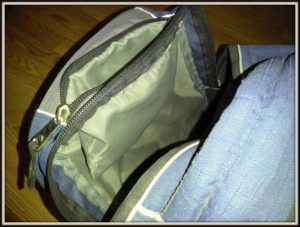 backpack gear review swerve from High Sierra inside pockets