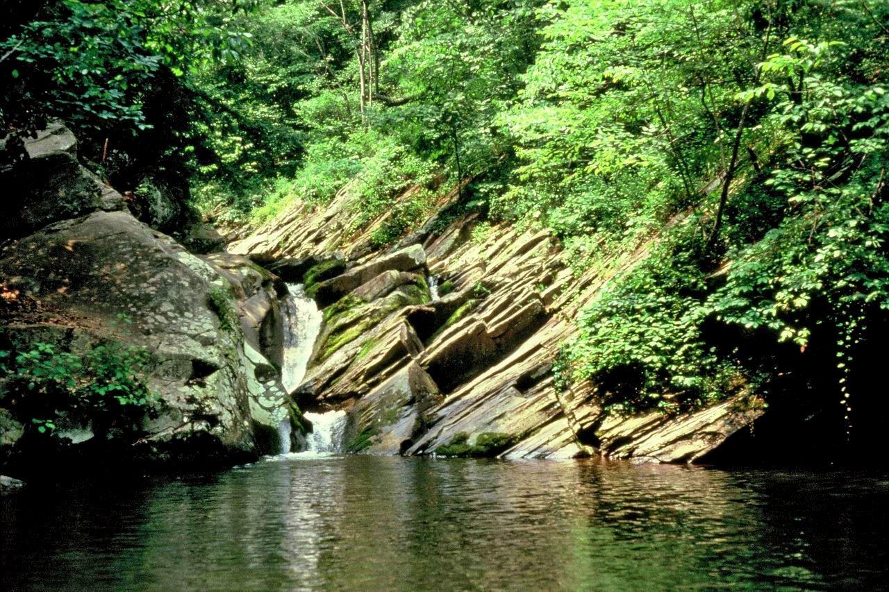 Shenandoah National Park waterfall