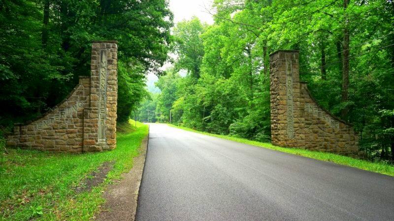 monongahela national forest entrance