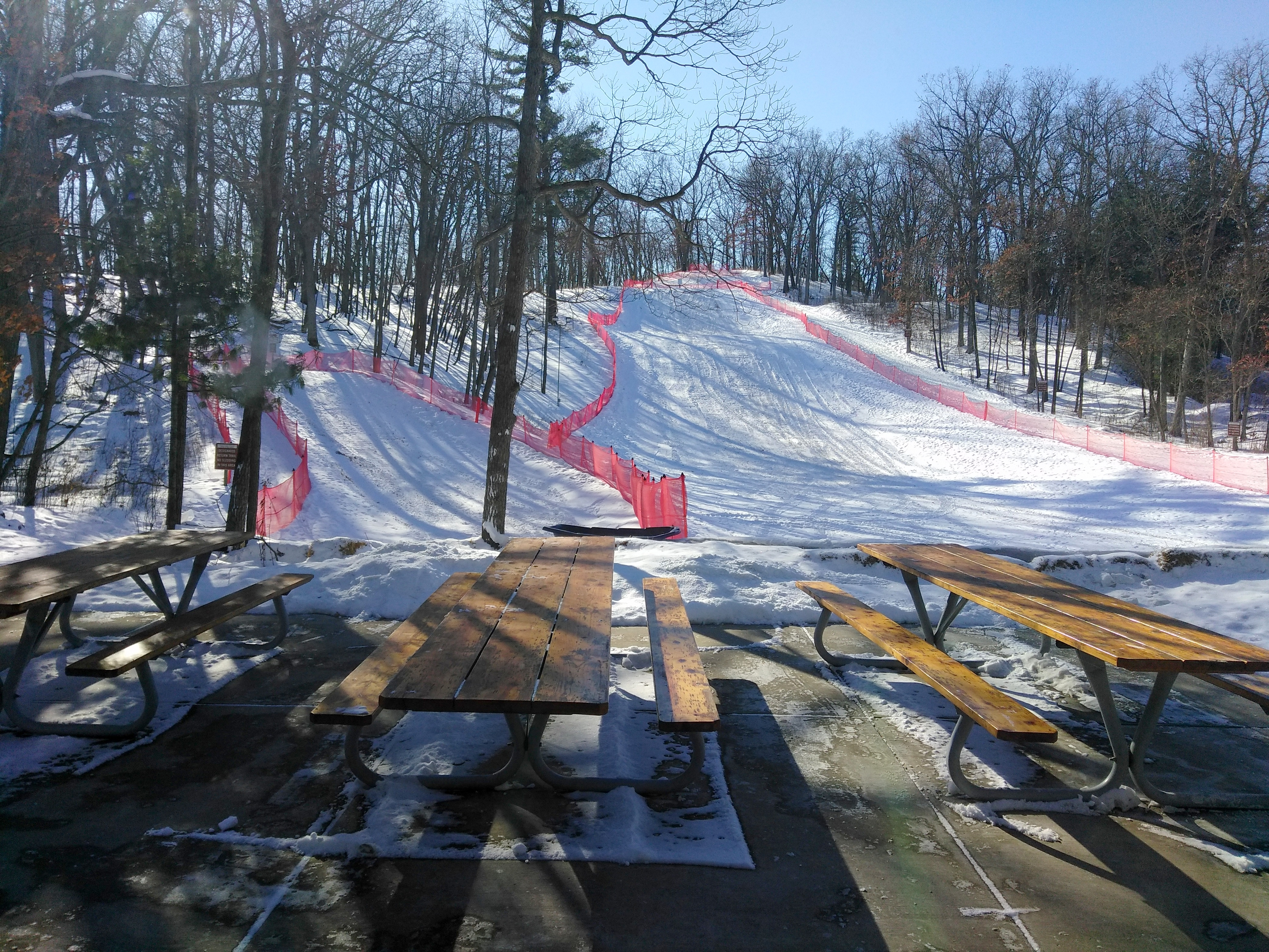 lost lake sledding hill