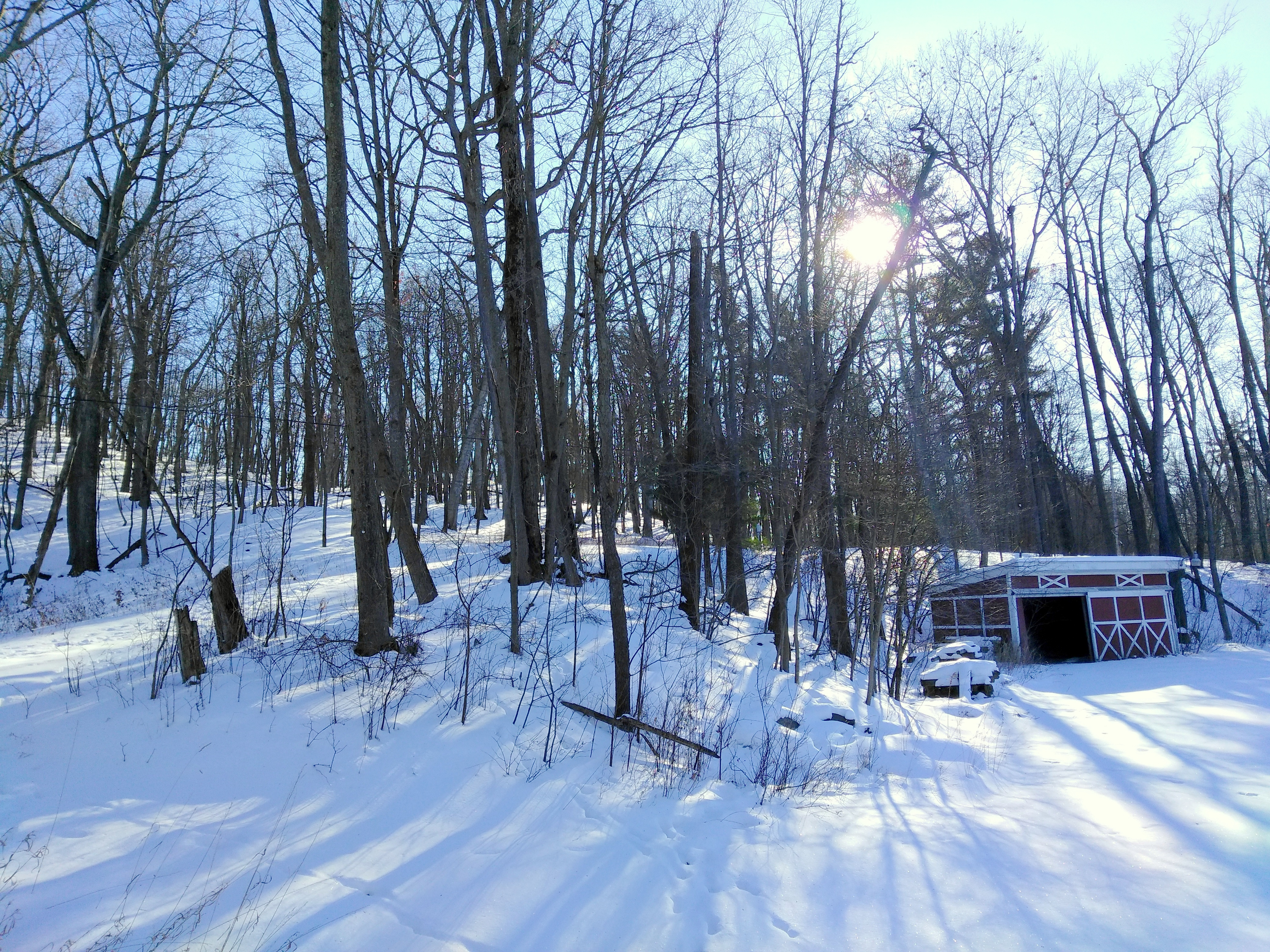 caretaker's shed at lost lake
