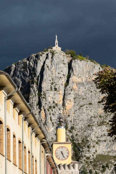 Notre Dame du Roc Cathedral, Castellane